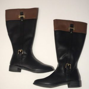 Riding boots size 9 Wide calf
